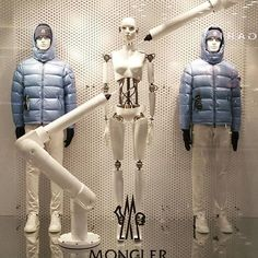 """MONCLER,New York, """"ROBOT is a term almost one hundred years old,created in fiction before becoming a reality"""", pinned by Ton van der Veer"""