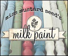 Miss Mustard Seed's Milk Paint at AttaGirlSays.com