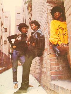 """Diana Ross and The Supremes """"Love Child"""" artwork. Jamel Shabazz, Jazz, Vintage Black Glamour, Vintage Soul, Soul Train, Soul Funk, Sweet Soul, Diana Ross, Types Of Music"""