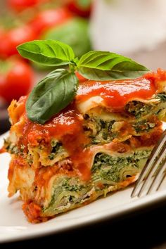 Extra-Easy Spinach Lasagna Recipe