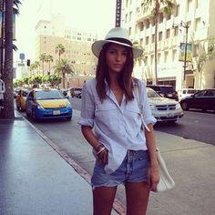 easy at Hollywood #lovelypepatravels #losangeles #ootd #style #travels