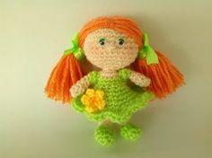 Bambola Amigurumi Uncinetto Tutorial -Muñeca Crochet -Doll Crochet - YouTube