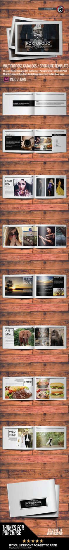 Minimal Purpose Portofolio Design Template on Behance