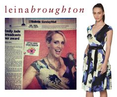 How exciting to see gorgeous Emily-Jade from 1029 Hot Tomato wearing the floral wrap circ in the Gold Coast Bulletin as Miss Chatterbox! Love it!!!