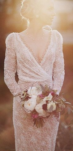 Wedding dress idea; Featured Dress: Inbal Dror