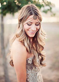 Bridal Looks | Bohemian headpiece