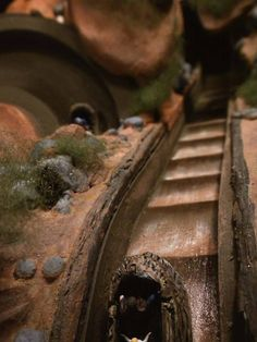 Working Splash Mountain Model - Imagineering Disney -