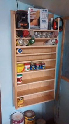 Garyandjudi B.'s supply rack made by plans from Jayscustomcreations.