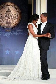The inaugural dance
