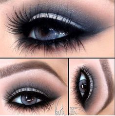 A Smokey Cut Crease
