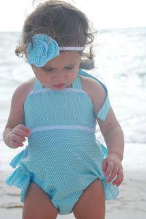 vintage girls bathing suit