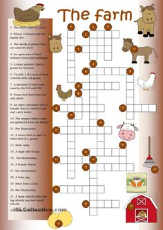 Crossword The Farm  sc 1 st  Pinterest & Bugs and Insects Crossword Puzzle | Insects Early finishers and ... 25forcollege.com
