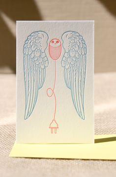 We love original letterpress cards!