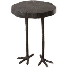 Ostrich Side Table