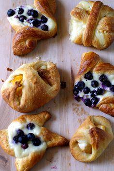 Pretty little danish breads.