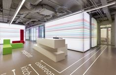 Publicis offices in Moscow by Vox Architects