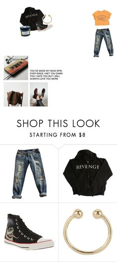 """""""You were made to make my head spin"""" by captin-j-rose ❤ liked on Polyvore featuring Marvel Comics, Converse and Miss Selfridge"""