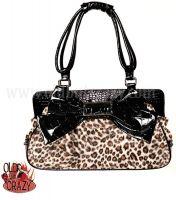 Sac Noir Leopard