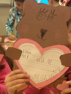 Valentines Day Make Them Smaller And More Detailed And Laminate Them Kindergarten Crafts