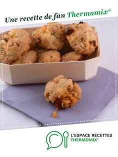 Cookies salés au chorizo parmesan et sésame (Apéro) par Laulaud. Une recette de fan à retrouver dans la catégorie Accompagnements sur www.espace-recettes.fr, de Thermomix<sup>®</sup>.