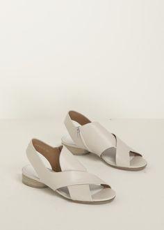 Maison Martin Margiela Cross Over Sandal (Off White)