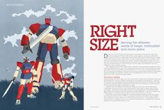 The Right Size, Illustration by SHOUT for Asset International ::: www.dutchuncle.co.uk/shout-images