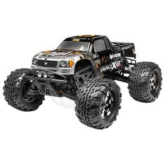 ALL NEW! HPI Savage X 4.6 RTR Nitro 1/18 4WD Monster Truck