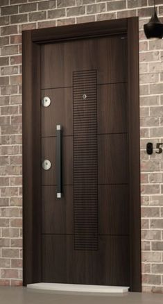 Are you looking for the best wooden doors for your home that suits perfectly? Then come and see our new content Wooden Main Door Design Ideas. Wooden Main Door Design, Modern Wooden Doors, Wooden Front Doors, Front Door Design, Modern Door, Modern Entrance Door, Wood Doors, House Main Door Design, Entrance Doors