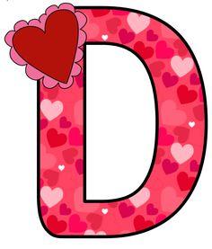 CH B *✿* ALFABETO CORAZON DE KID SPARKZ Cute Alphabet, Monogram Alphabet, Scrapbook Letters, Alphabet Templates, All Things Purple, Shopkins, Valentine Heart, Letters And Numbers, Symbols