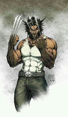 Logan By Michael Turner. R.I.P. This man was an amazing artist who went way too soon. So sad