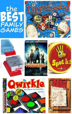 The Best Family Games from Let's Get Together