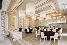 Wedding Banquet Halls Luxury Lighting Design 3d