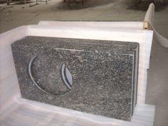 Newstar supply NGJ045 Sapphire blue granite  granite countertop China factory GRANITECOUNTERTOP