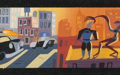 Early Colorscript, The Incredibles, 2004