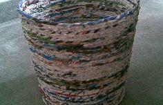 Caneca de papel reciclaje!