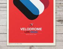 British Cycling Print Series by Neil Stevens, via Behance