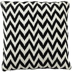 Eichholtz Chevron Cushion Black Cream Polyester 75x75cm (1.550.200 IDR) ❤ liked on Polyvore featuring home, home decor, throw pillows, black, ivory throw pillows, beige throw pillows, black home decor, black accent pillows and polyester throw pillows