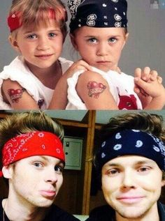 puberty went really well for luke and ashton