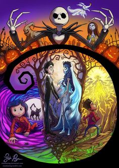 Tim Burton has created the ideas for some amazing movies                                                                                                                                                     Más