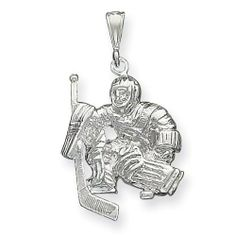 Silver goalie pendant (Goldia)