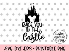 Race You To the Castle Disney Bound Travel Summer Spring Break Plane Castle Princess Mickey Mouse Minnie Mouse Shirt Onesie SVG Cut File • Cricut • Silhouette Vector • Calligraphy • Download File • Cricut • Silhouette Cricut projects - cricut ideas - cricut explore - silhouette cameo By Kristin Amanda Designs