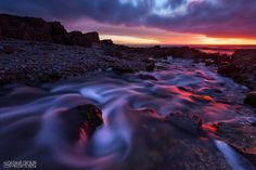 Photo Romansbay Nightfall by Hugh-Daniel Grobler on Amazing Photography, Photography Tips, Color Of The Day, Waterfall, Fire, Earth, Outdoor, Beautiful, Stars