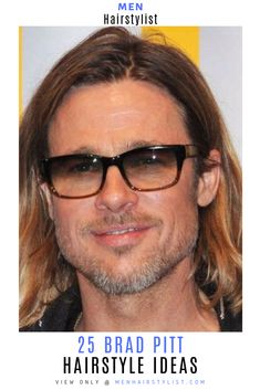 Discover the best easy pull-off Brad Pitt haircut ideas. Don't just dream about it, do it. Choose your favorite hairstyle from classic, faux hawk & more. Brad Pitt Haircut, Faux Hawk, Just Dream, Pull Off, Haircuts For Men, Your Hair, Hair Cuts, Hairstyles, Man Haircuts