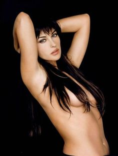 The Best Free Erotic Photo Sexy Girls With Hot Boobs In High Definition Quality Monica Bellucci Sexy Nude Brunette With Medium Natural Tots Image