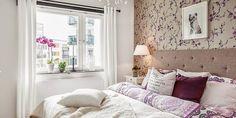 El piso de la semana: BLANCO Y MORADO   Decorar tu casa es facilisimo.com
