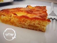 Ein fluffig-leichter Apfelkuchen - schmeckt super mit Vanilleeis!