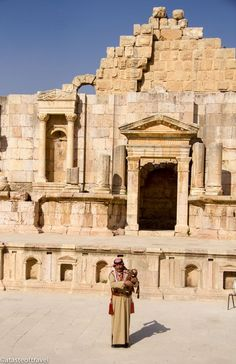 South Theatre, The Roman Ruins of Jerash, Jerash, Jordan