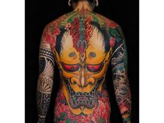 Oni Mask, Source: http://scroll-me.com/japanese-tattoo-inspiration-pictures/