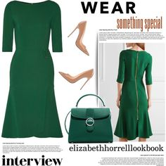 STYLED BY LIZ by elizabethhorrell on Polyvore featuring Roland Mouret, CHARLES & KEITH, WorkWear, dresses and stylish