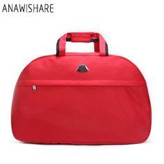 2256da5d1b89 ANAWISHARE Women Travel Bags Men Luggage Travel Duffle Bags Nylon  Waterproof Daily Travel Handbag Bag Shoulder Bag Bolso Deporte   travelhandbags